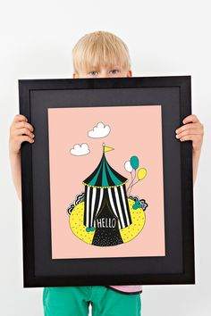 Hello! / poster / Johanna Högväg, Highway Design