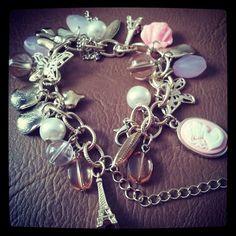 Paris charm bracelet. £5 from Peacocks.