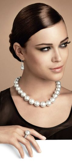 """anbenna: """" Mikimoto Jewellery by Les Ambassadeurs """""""