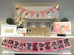 Pink and Gold Birthday Party Ideas   Ideas para fiestas de cumpleaños en colores Rosa y Dorado.