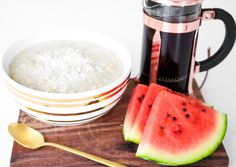 Proteingrøt med smak av vanilje & kokos