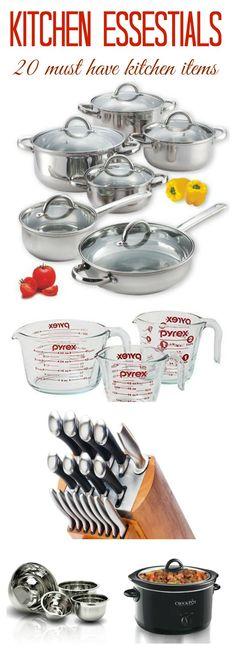 Kitchen essentials - 20 must have kitchen items