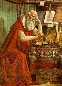 Saint Jerome was another important Latin Father when it came to influencing Christianity in the west. After having a dream, in which Jesus appeared, he helped spread Christianity by translating the old and new testament into Latin. He also created the Latin Vulgate, which became the standard edition of the Bible.