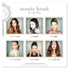 sunnie brook's beauty blog is friendly, accessible, and full of fun ideas and all the steps necessary to recreate them!