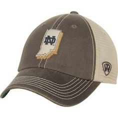 new concept 2d05d 1daf0 Notre Dame Fighting Irish Top of the World United Trucker Adjustable  Snapback Hat - Charcoal