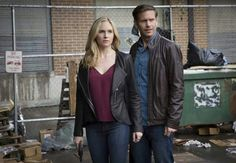 "TVD Episode Still 7x20"" Kill 'Em All"" - Caroline Forbes and Alaric Saltzman"