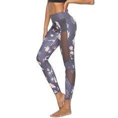61abe2e1376d SOUTEAM MESH PANEL YOGA PANTS-Social Ads Atlanta Printed Yoga Pants