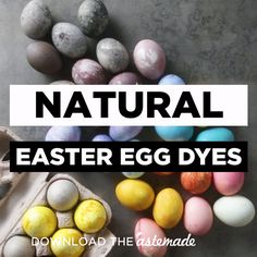 Easter Decorations 368450813252344109 - Color your eggs the safe and easy way with onion skins, red cabbage, blueberries, beets and turmeric. Source by tastemade