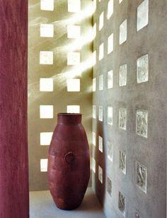 a946a9fdbf3e3 Idée créative pour votre intérieur inspiré à l aide de briques de verre  Douche Carreaux