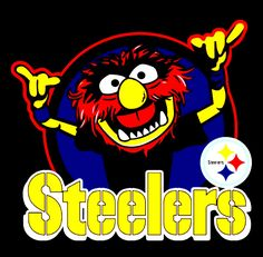 Pittsburgh Steelers Football, Pittsburgh Sports, Steelers Terrible Towel, Animal Muppet, Cartoon Movie Characters, Sports Fanatics, Steeler Nation, Football Pictures, Old Cartoons