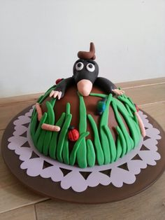 De kleine mol taart Cupcakes, Cupcake Cakes, Childrens Books, Birthday Cake, Desserts, Food, Children's Books, Tailgate Desserts, Cupcake