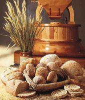 Barley Bread.  100% barley with yeast.