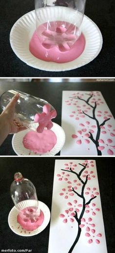 Handmade sakura tree Pinterest is giving away free gift cards for Visa, Get yours now