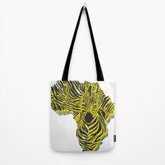 Zebra Africa Tote Bag by vladimirceresnak Home Accessories, Africa, Tote Bag, Stuff To Buy, Bags, Handbags, Home Decor Accessories, Totes, Bag