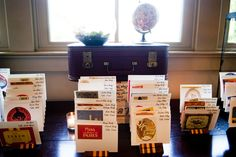 Vintage-Travel-Postcards-Escort-Cards | photography by http://www.davidmurrayweddings.com