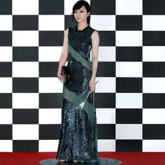 Doona Bae wearing #LouisVuitton #LVCruise by @nicolasghesquiereofficial to the 51st Baeksang Art Awards in Seoul