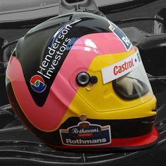 JACQUES VILLENEUVE 1997 F1 REPLICA HELMET