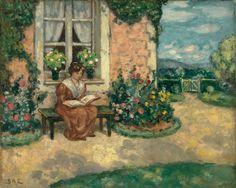 Simone (c.1907). Georges d'Espagnat (French, 1870-1950). Oil on canvas. Museo Thyssen-Bornemisza.