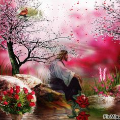 Day 136 - A Course in Miracles Jesus Art, God Jesus, Image Jesus, Pictures Of Jesus Christ, Jesus Pics, Religion, Prophetic Art, A Course In Miracles, Jesus Loves Me