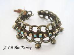Boho chic statement bracelet
