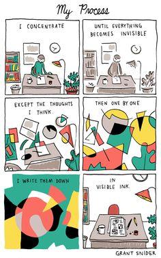 INCIDENTAL COMICS: My Process