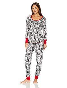 Mae Women s Sleepwear Thermal Pajama Set Women s Sleepwear 5ba429f24