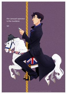 OMG it's a series. Day. Made. Sherlock carousel