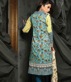 Rajbari Premium Fall Winter Linen Collection 2015 RB_06A