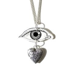Look Into My Heart Necklace