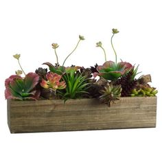 Brighten up your office windowsill with this eye-catching faux succulent garden, then take it outside for a lovely patio dinner party centerpiece. ...