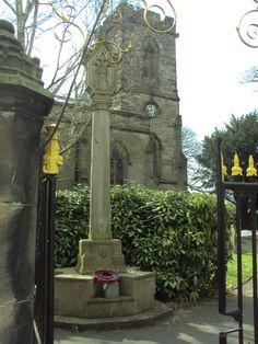 War Memorials, Derbyshire, Green Grass, Fire, History, Historia