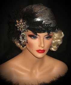 mother of the bride silver turban - Google Search