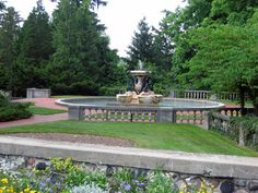 Cranbrook House and Gardens Bloomfield Hills Michigan (my hometown).  I would spend my summers wandering around the grounds.