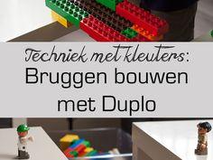 techniek met kleuters - bruggen bouwen met Duplo - Lespakket Professor, Numicon, Stem For Kids, 21st Century Skills, A Classroom, Lego Duplo, Legoland, Love My Job, Internet Marketing