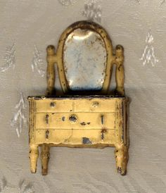 Vintage Kilgore doll house furniture dresser and by bbmanning, $65.00