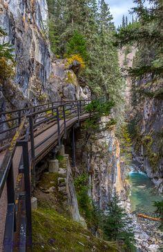 Johnson Canyon Catwalk by Elgin Mann on 500px
