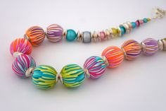 Skinner blends? - Beautiful color contrast.- beads by Nemravka