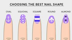 What Does Your Nail Shape Say About You? Find Out Now! #nail #shape #yourself #behivour http://goo.gl/qSPrxh