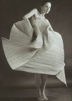 ℘ Paper Dress Prettiness ℘ art dress made of paper