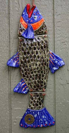 Trout by OZARTCOLLECTION on Etsy https://www.etsy.com/listing/180028804/trout