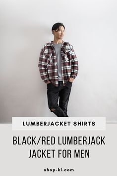Looking for a versatile Lumber Jacket? Look no more! This Men´s plaid jacket is useful for everyday activities Our lumber jacket is great for chilled nights with the inner layer of fleece material, making it the ultimate buffalo jacket. Plaid Jacket, Shirt Jacket, Buffalo Jacket, Everyday Activities, Men Casual, Man Shop, Mens Fashion, Clothing, Red