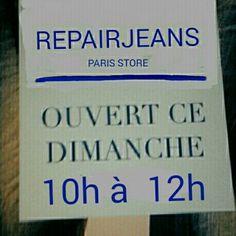 Une bonne adresse  à  Paris  pour  l'entretien  de vos#selvedge #denim #jeans