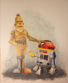 Bert and Ernie Reimagined as C3PO andR2-D2 - News - GeekTyrant