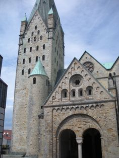 PADERBORN CATHEDRAL GERMANY