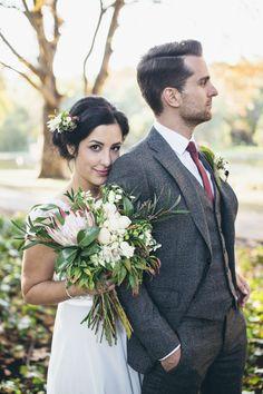 Rustic Autumn Park Wedding in Perth – Style Me Pretty