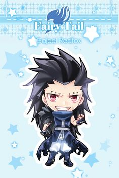This is cute. I never thought I could say that Gajeel is cute. But I have. Wow...