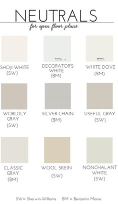 Choosing Paint For An Open Floor Plan (Neutral Paint Colors)