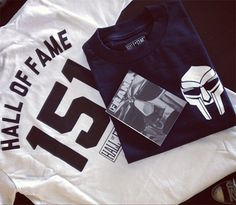 Hall of Fame x Frank151 x MF Doom T-Shirt Preview