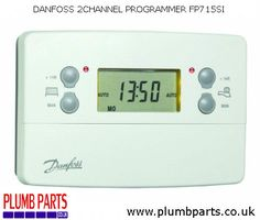 £ 59.99 inc. vat - Service Interval Function 7 Day, 5/2 Day Or 24 Hour Programming Permanent Back Lit Display AM/PM Or 24 Hour Display Built-In Programmes Automatic BST/GMT Time Change Convenient User Overrides Holiday Function Industry Standard Wallplate Factory Set Clock at #PlumbParts #Plumbers #Merchant #UK