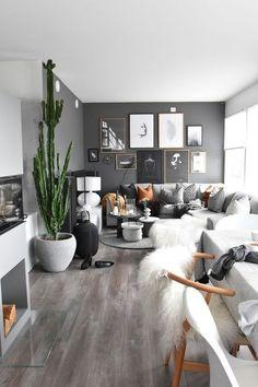 30+ Gorgeous Farmhouse Living Room Decor Idea -